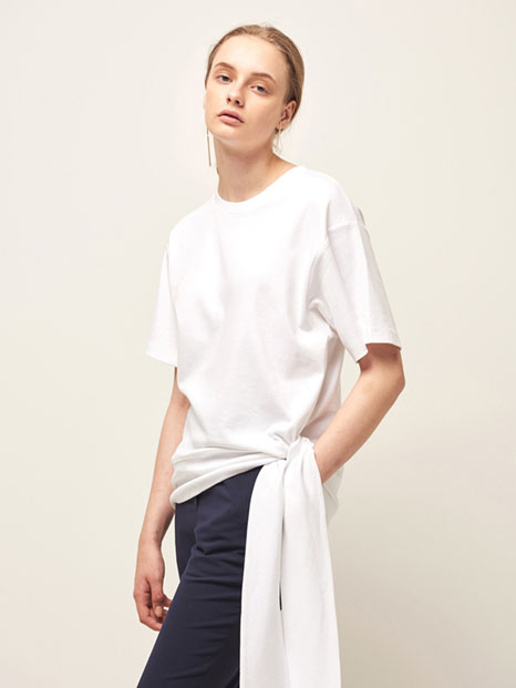 16RESORT SIDE STRING T-SHIRT WHITE