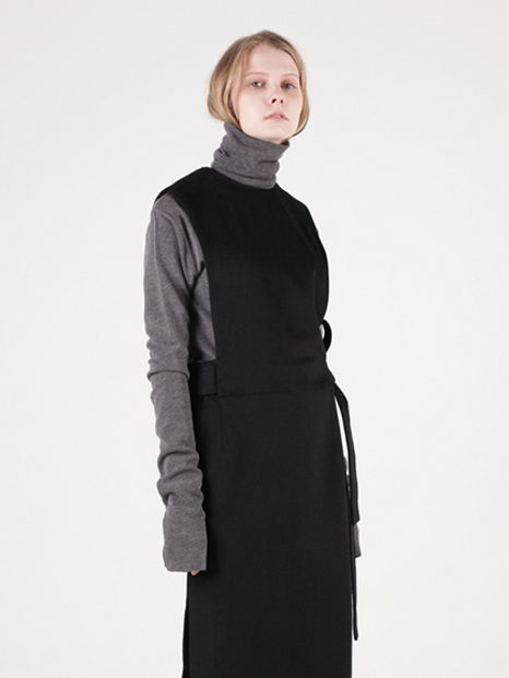 15FW LONG SLEEVE TURTLENECK CHARCOAL