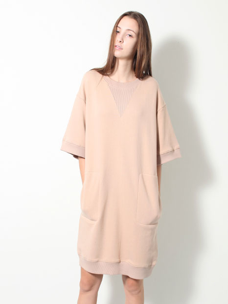 15SS OVERSIZED ONE PIECE BEIGE