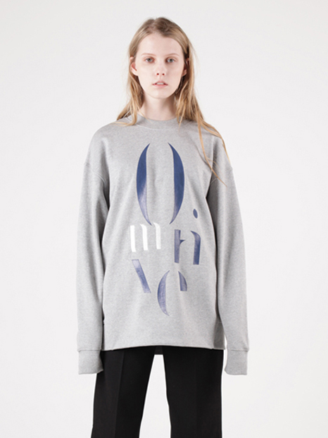 15FW MOTIVE SWEATSHIRT GREY