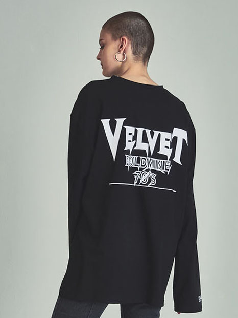 [13month]VG longsleeved t-shirts black