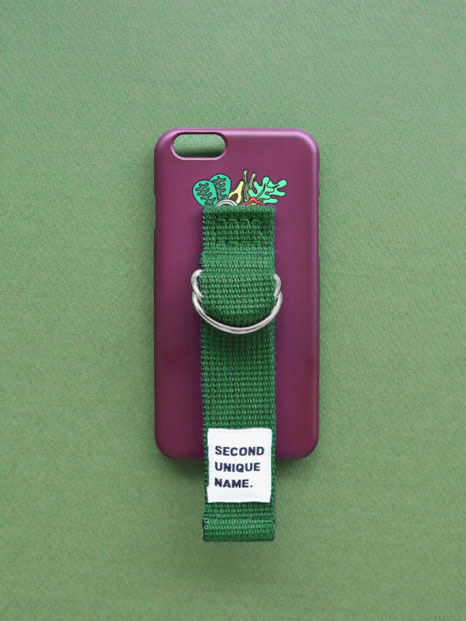 SUN CASE PUPLE DEEP GREEN (ILLUST)