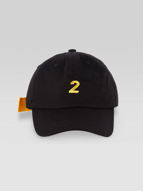 SUN CAP BLACK YELLOW