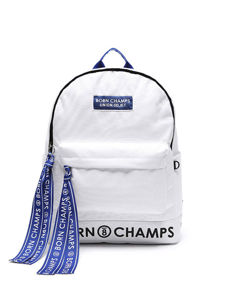 17S/S BORNCHAMPS X UNIONOBJET TAPE BAG WHITE