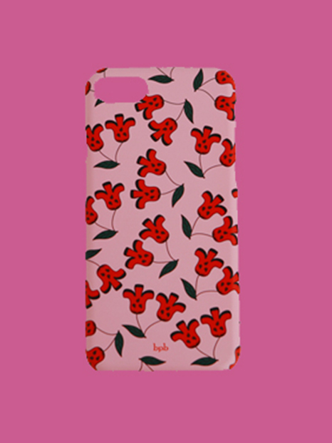 Cherry IPhone Case Pink