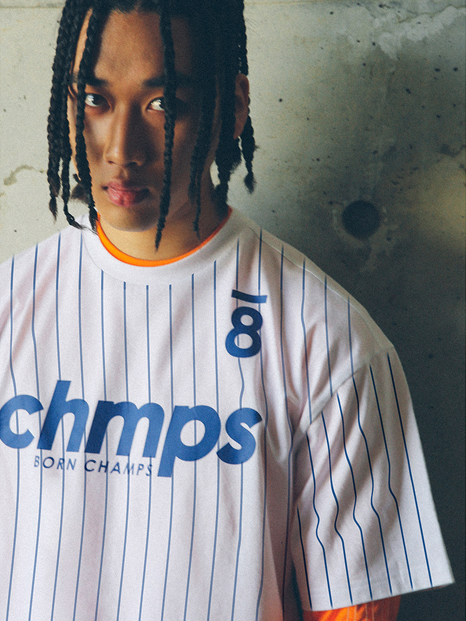 8 CHAMPS TEE WHITE CEQBMTS09WH
