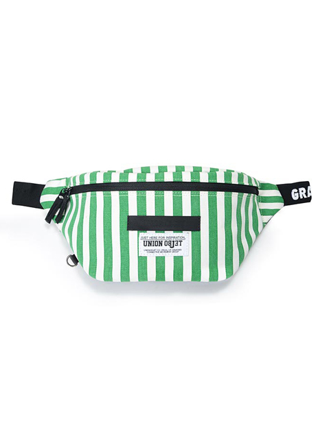 [UNION OBJET]SUNNYHIP STRIPE - GREEN