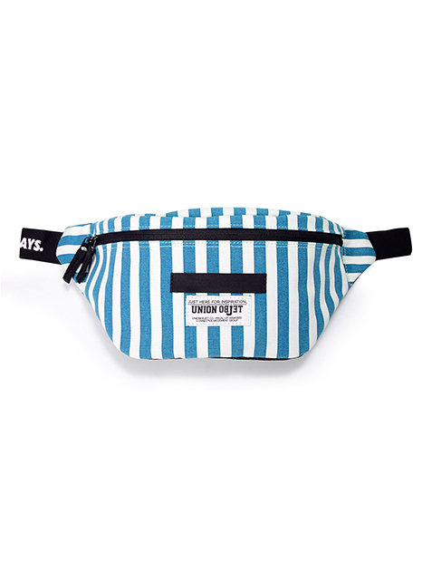 [UNION OBJET]SUNNYHIP STRIPE - AQUA BLUE