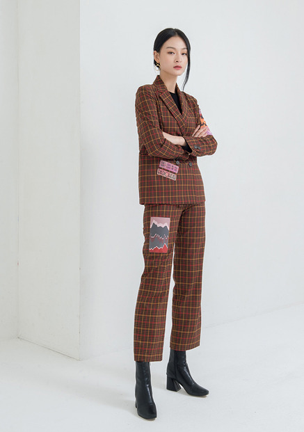 [NU PARCC]Plaid Pants