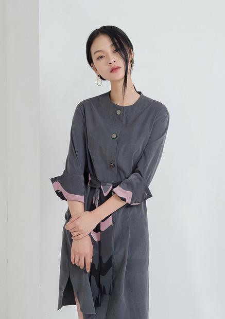[NU PARCC]Outer Shirtdress