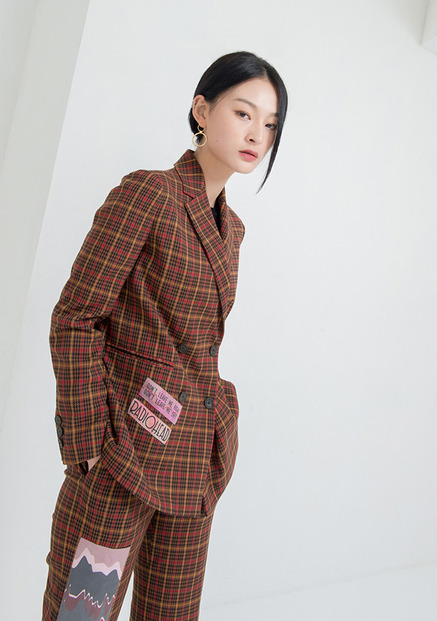 [NU PARCC]Plaid Jacket
