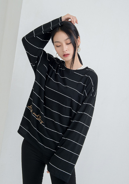 [NU PARCC]High Stripe Tee
