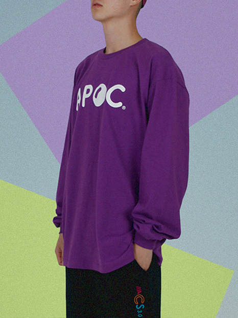 APOC Longsleeved T-shirts_Purple