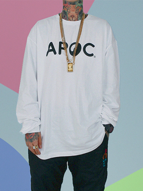 APOC Longsleeved T-shirts_White