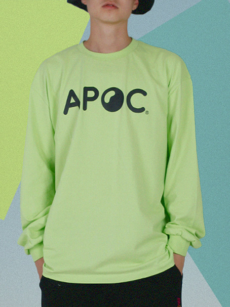 APOC Longsleeved T-shirts_Lime