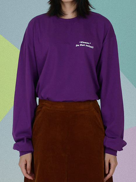 [APOC]ACS3.0 Longsleeved T-shirts_Purple