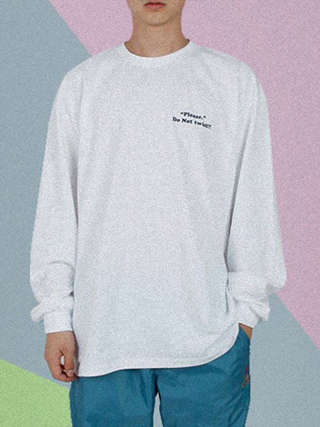 [APOC]ACS3.0 Longsleeved T-shirts_White