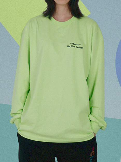 [APOC]ACS3.0 Longsleeved T-shirts_Lime