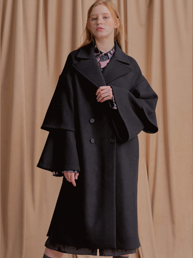 [NU PARCC]17F/W Double Sleeve Coat