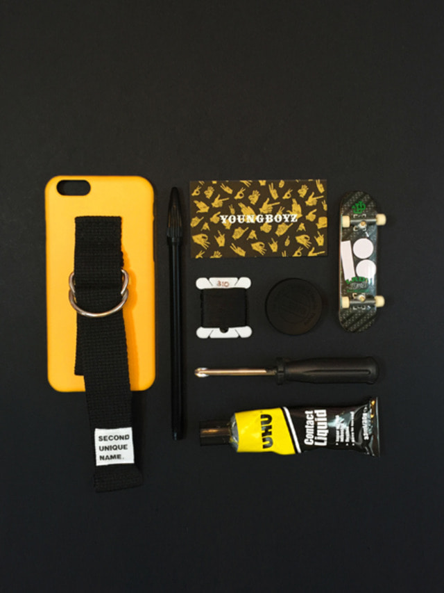 SUN CASE YELLOW BLACK (NONE)