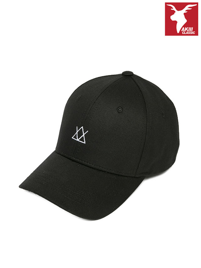 AKIIICLASSIC ICON BALL CAP BLACK