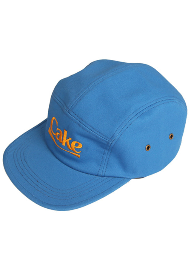 [A PIECE OF CAKE]Cake Logo Camp Cap_Blue