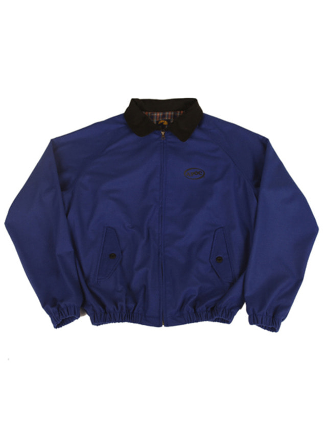 [A PIECE OF CAKE]Oval Logo Blouson_Blue
