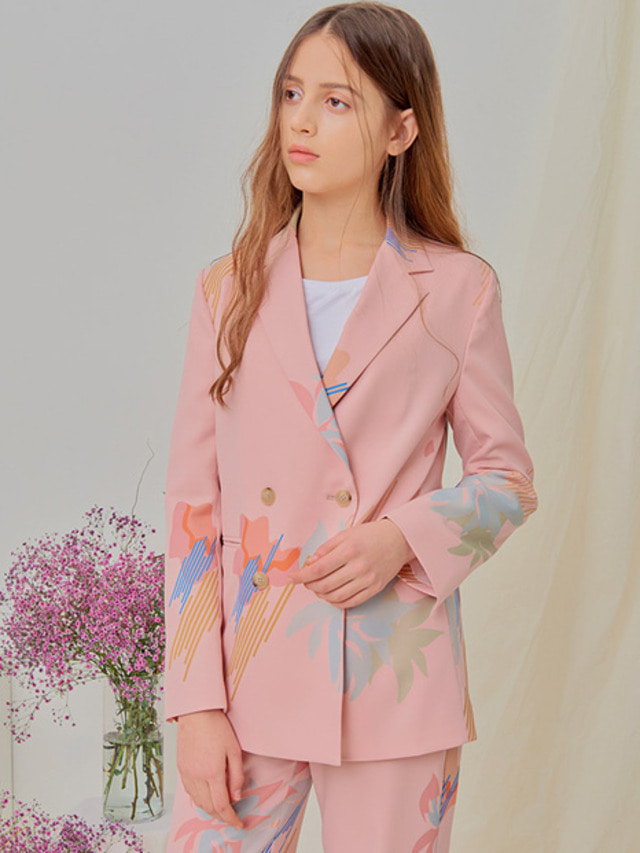 [NUPARCC]Painted Floral Jacket