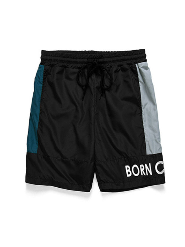 [BORN CHAMPS]B-SIDE SHORT PANTS CERBMTP02BK