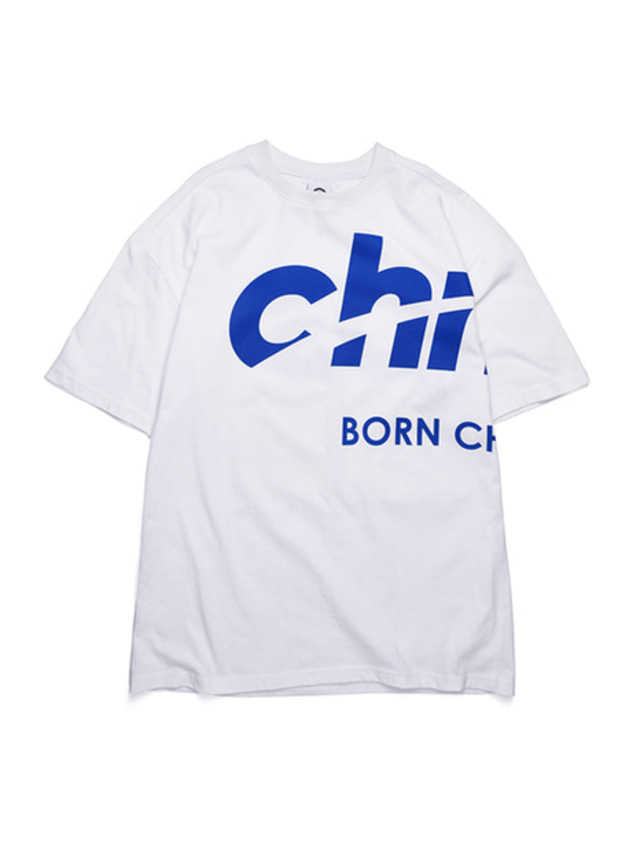 [BORNCHAMPS]SIDE CHMPS TEE CERBMTS02WH