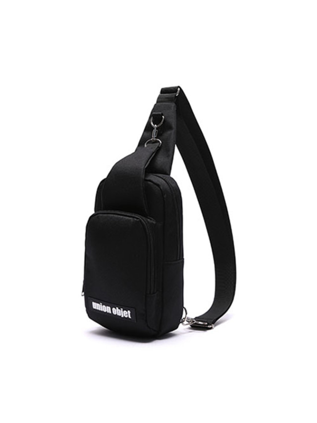 [UNIONOBJET]UNION SLING BAG BLACK