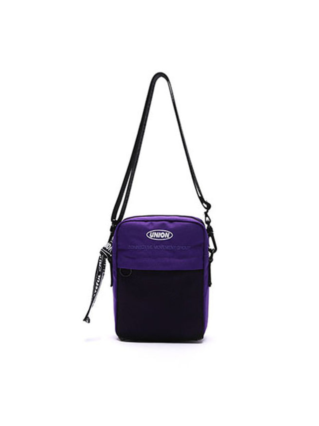 [UNIONOBJET]UNION SUPER CROSS BAG PURPLE