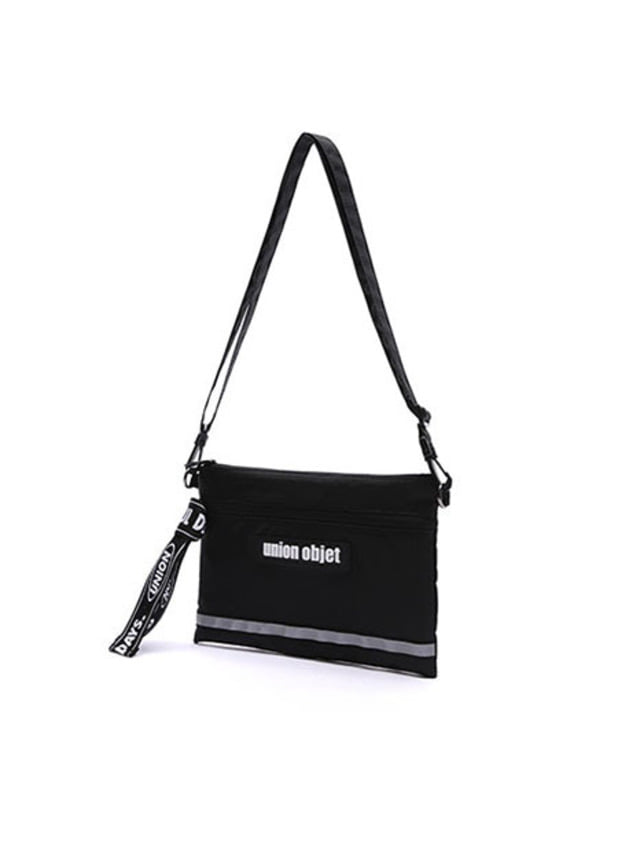 [UNIONOBJET]UNION TECH CROSS BAG BLACK