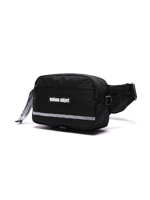 [UNIONOBJET]UNION TECH WAIST BAG BLACK