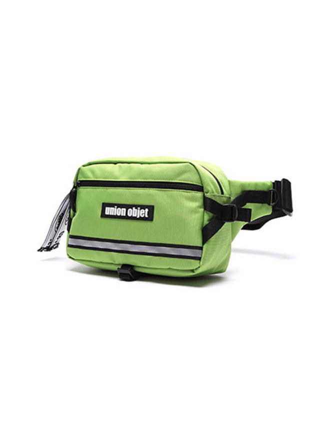 [UNIONOBJET]UNION TECH WAIST BAG LIME