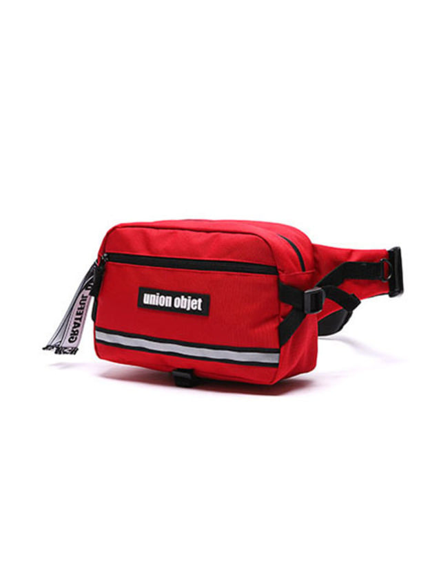 [UNIONOBJET]UNION TECH WAIST BAG RED