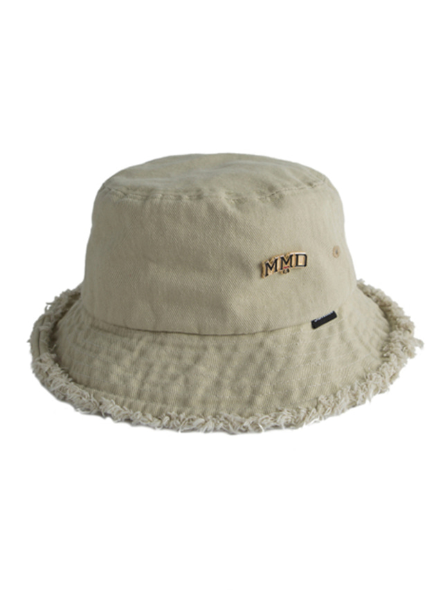 [ROMANTICCROWN] MMD BUCKET HAT BEIGE