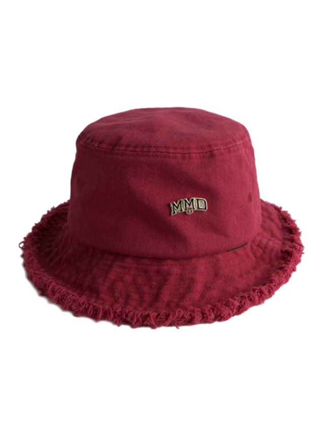 [ROMANTICCROWN] MMD BUCKET HAT BURGUNDY