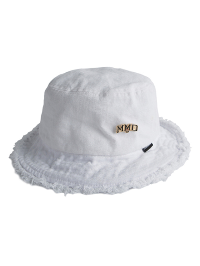 [ROMANTICCROWN] MMD BUCKET HAT WHITE