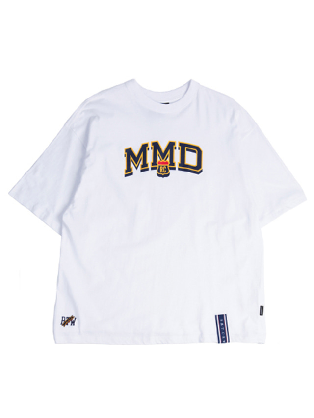 [ROMANTICCROWN] MMD LOGO T_SHIRT WHITE