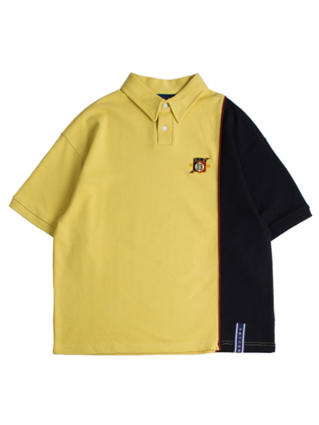 [ROMANTICCROWN] PIPING POLO SHIRTS BUTTER