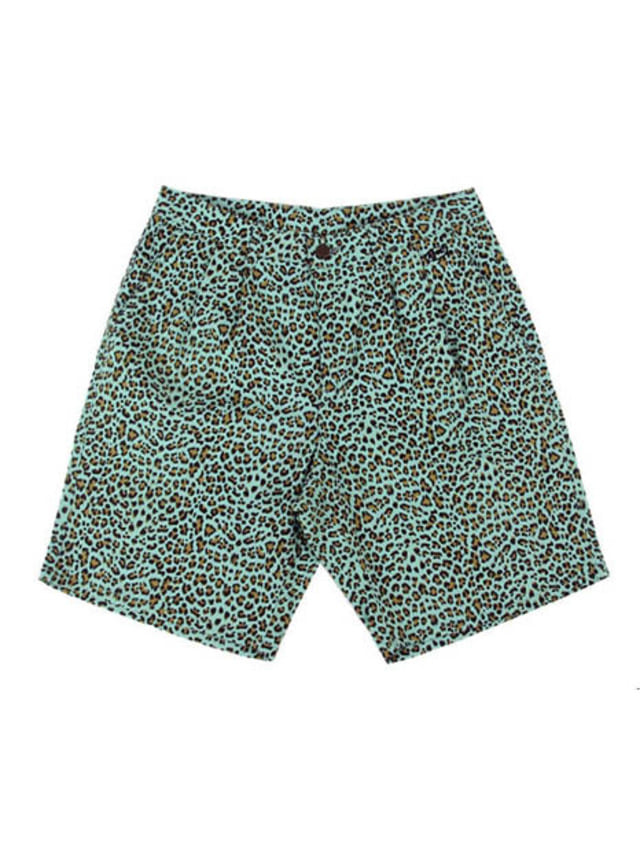 [APOC]Leopard 1/2 Pants_Mint