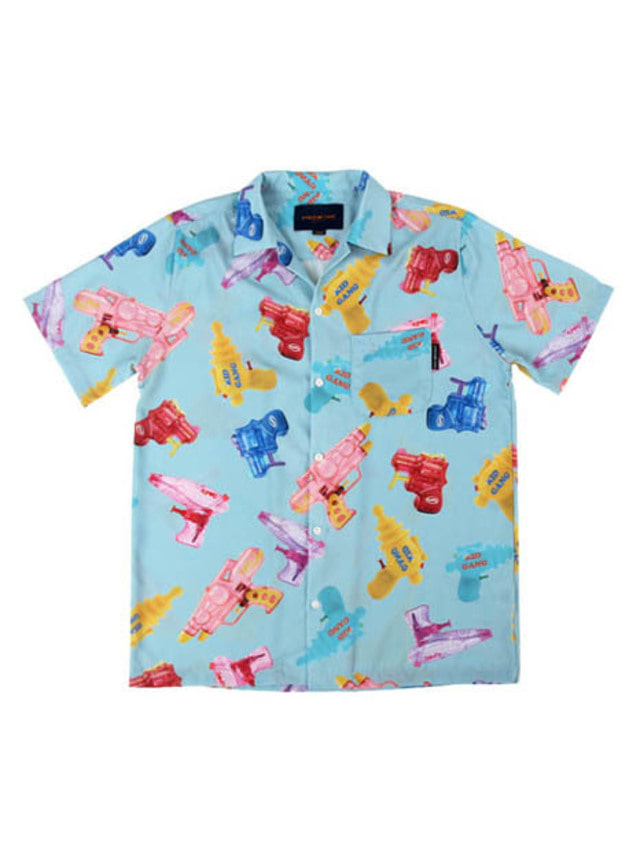 [APOC]Watergun Hawaiian Shirts_Blue