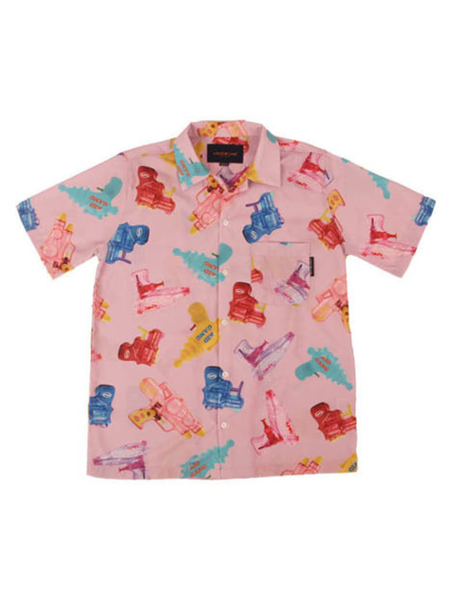 [APOC]Watergun Hawaiian Shirts_Pink