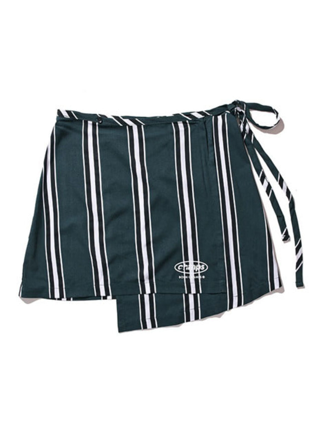 [BORN CHAMPS]LARGE STRIPE SK GREEN