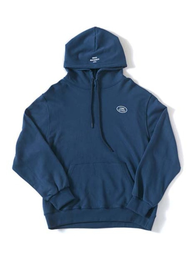 [IZRO] IZRO GOD'S NUMBER HOODY - STEEL BLUE