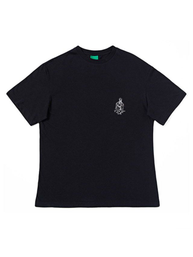[IZRO] IZRO DRAWING T-SHIRTS - BLACK