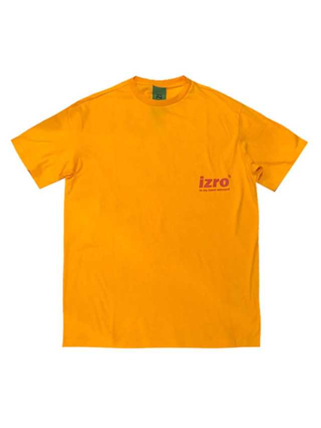 [IZRO] IZRO IMBA T-SHIRTS - ORANGE