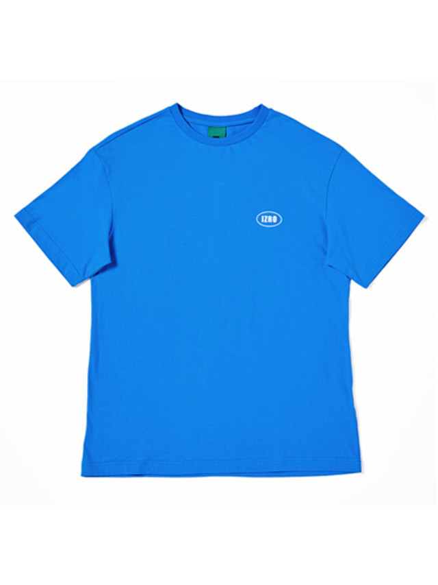 [IZRO] IZRO OVAL T-SHIRTS - BLUE