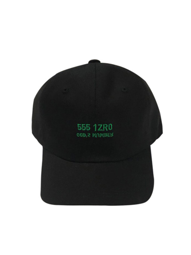 [IZRO] IZRO GOD'S NUMBER CAP - BLACK